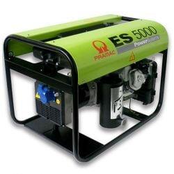 Бензинов монофазен генератор PRAMAC ES5000 - 2