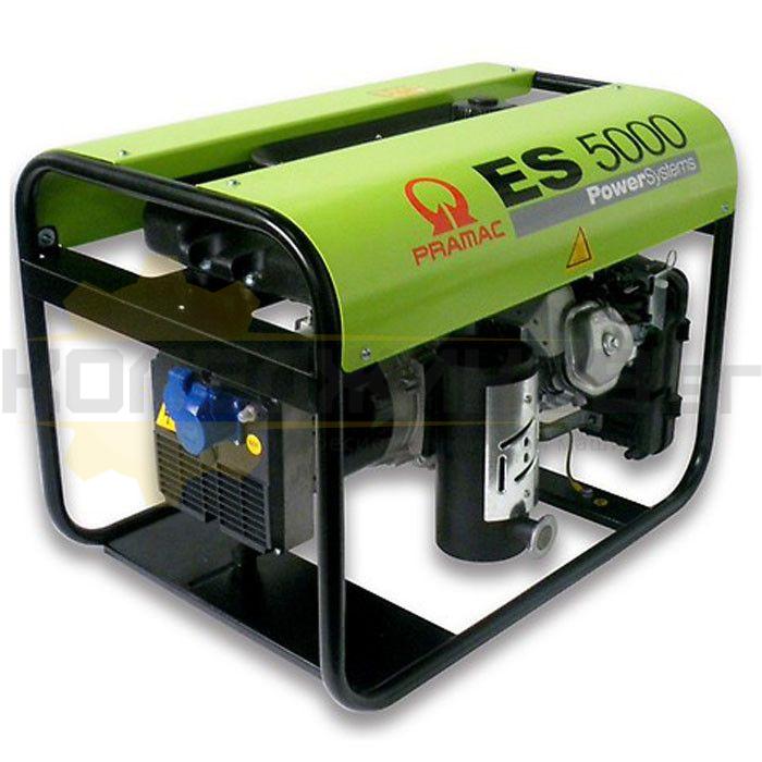 Бензинов монофазен генератор PRAMAC ES5000 - 1