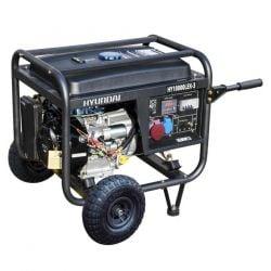 Бензинов трифазен генератор с ел старт и AVR HYUNDAI HY10000LEK/Т - 2