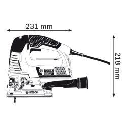 Електрически прободен трион BOSCH GST 140BCE - 4