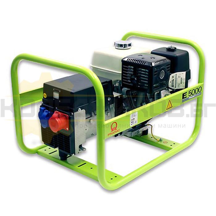 Бензинов трифазен генератор PRAMAC E5000 - 1