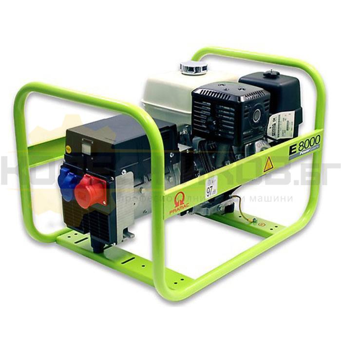 Бензинов трифазен генератор PRAMAC E8000 - 1
