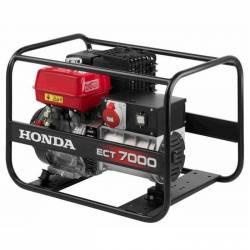 Бензинов трифазен генератор HONDA ECT7000 - 2