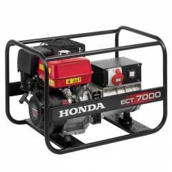 Бензинов трифазен генератор HONDA ECT7000 - 3