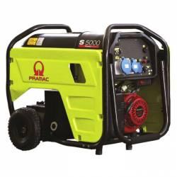 Бензинов трифазен генератор с ел старт PRAMAC S5000 - 4