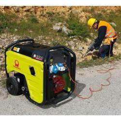 Бензинов трифазен генератор с ел старт PRAMAC S5000 - 5