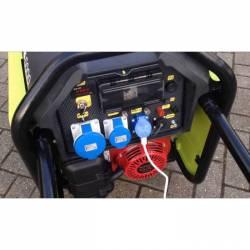 Бензинов трифазен генератор с ел старт PRAMAC S5000 - 6