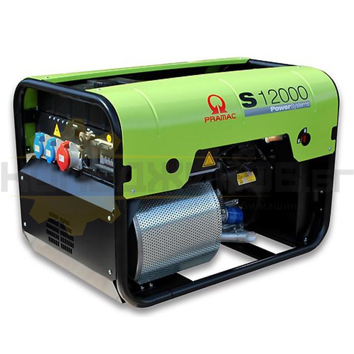 Бензинов трифазен генератор с ел старт PRAMAC S12000 - 1