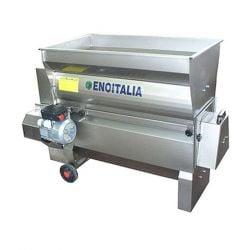 Електрическа гроздомелачка ронкачка с помпа ENOITALIA JOLLY 30 AR INOX - 2