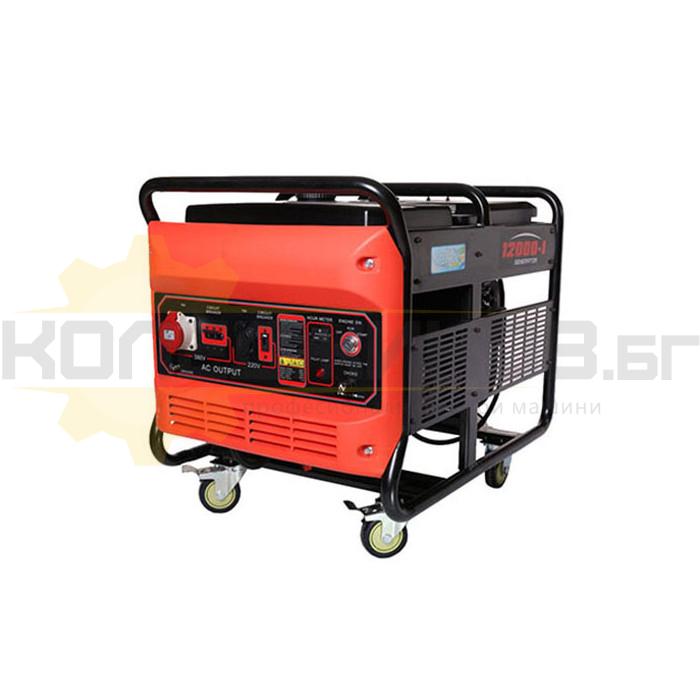 Бензинов трифазен генератор с AVR PETROV LC12000 - 1