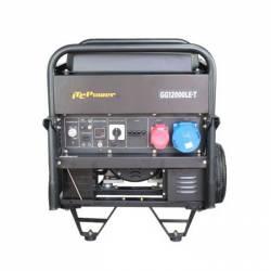 Бензинов трифазен генератор с ел старт и AVR ITC POWER GG 12000LE/T - 3