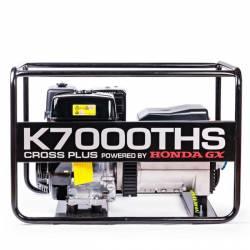 Бензинов трифазен генератор K7000THS - 2