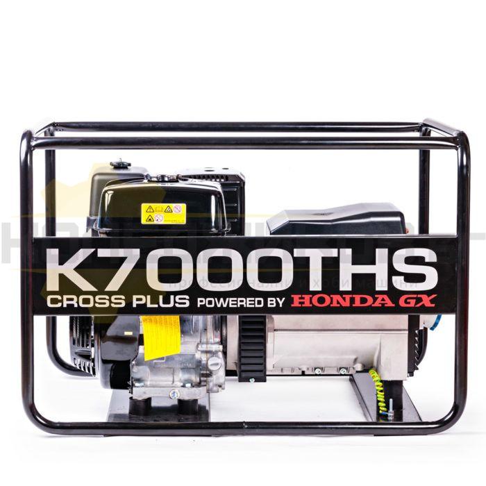Бензинов трифазен генератор K7000THS - 1