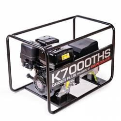 Бензинов трифазен генератор K7000THS - 4