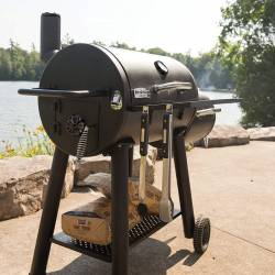 Барбекю на въглища BROIL KING SMOKE OFFSET CHARCOAL SMOKER - 9