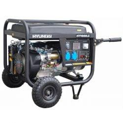 Бензинов монофазен генератор с ел старт и AVR HYUNDAI HY 9000 LEK - 2