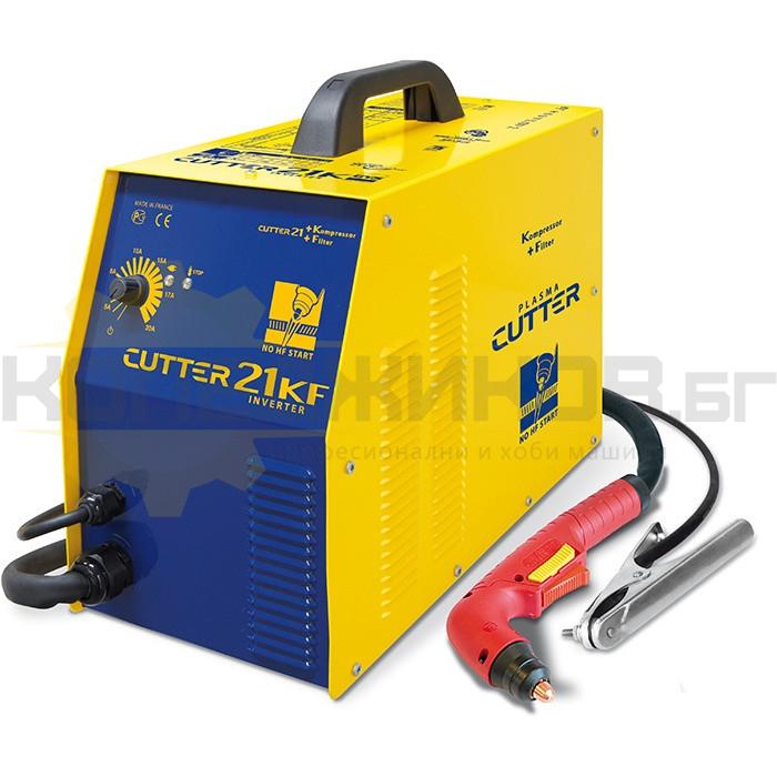 Инверторен апарат за плазмено рязане GYS PLASMA CUTTER 21 KF - 1