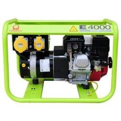 Бензинов монофазен генератор PRAMAC E4000 - 2