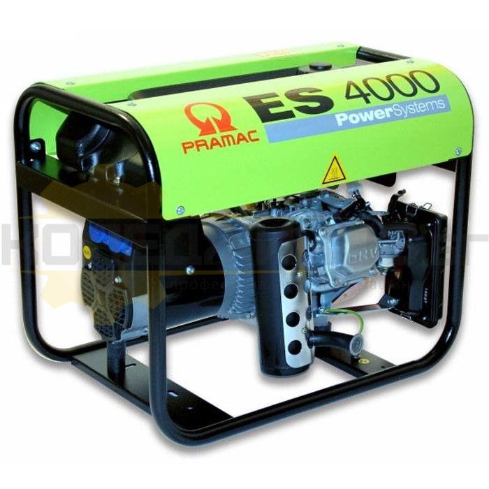 Бензинов монофазен генератор PRAMAC ES4000 - 1