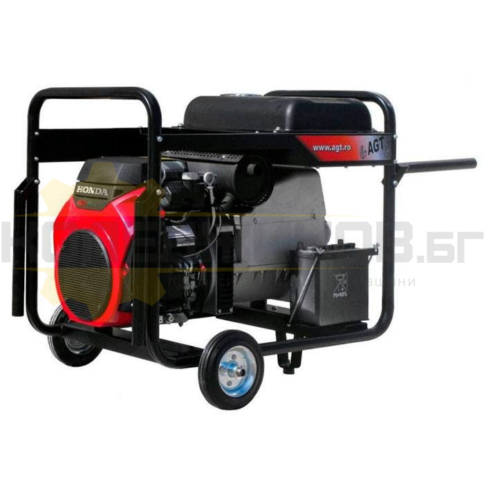 Заваръчен генератор с ел старт AGT 14503 HSBE R16 - 1