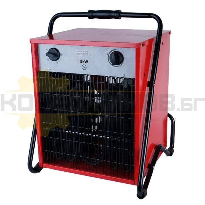 Електрически калорифер RAIDER RD-EFH09 - 1