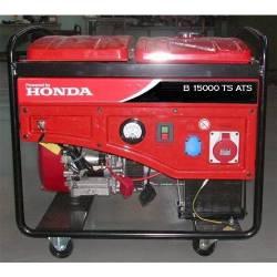 Бензинов трифазен генератор с ел старт ANTOR B 15000 TS - 3