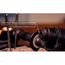 Акумулаторен перфоратор SDS-plus MAKITA DHR165Z - 4