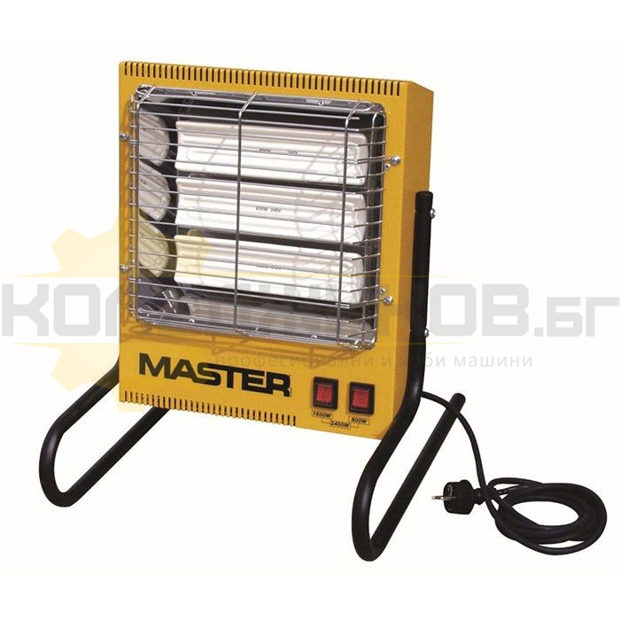 Електрически инфрачервен отоплител MASTER TS 3A - 1