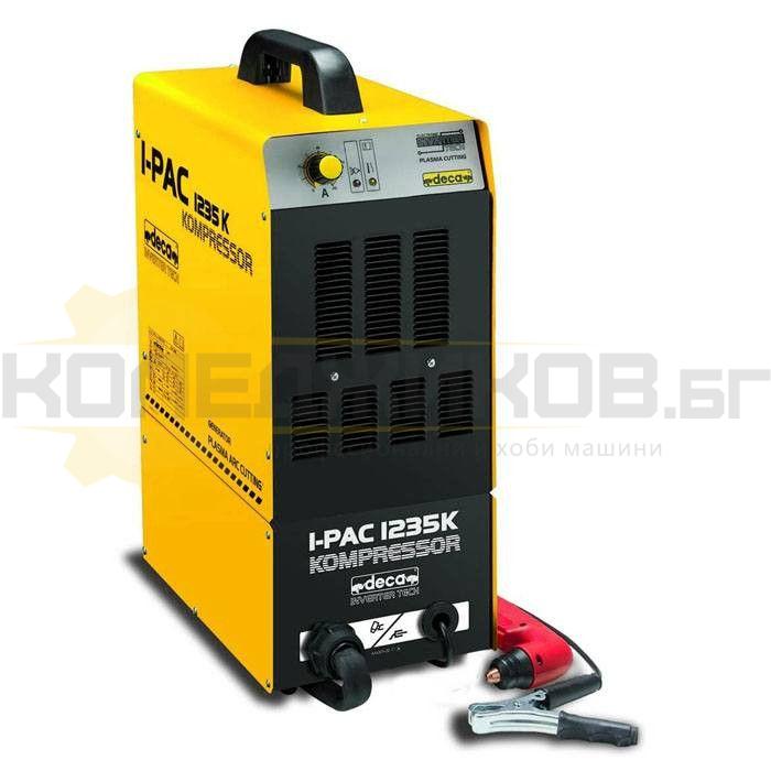 Инверторен апарат за плазмено рязане DECA I-PAC 1235 KOMPRESSOR - 1