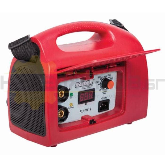 Инверторен електрожен RAIDER RD-IW19 - 1