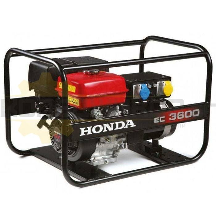 Бензинов монофазен генератор HONDA EC3600K1 - 1