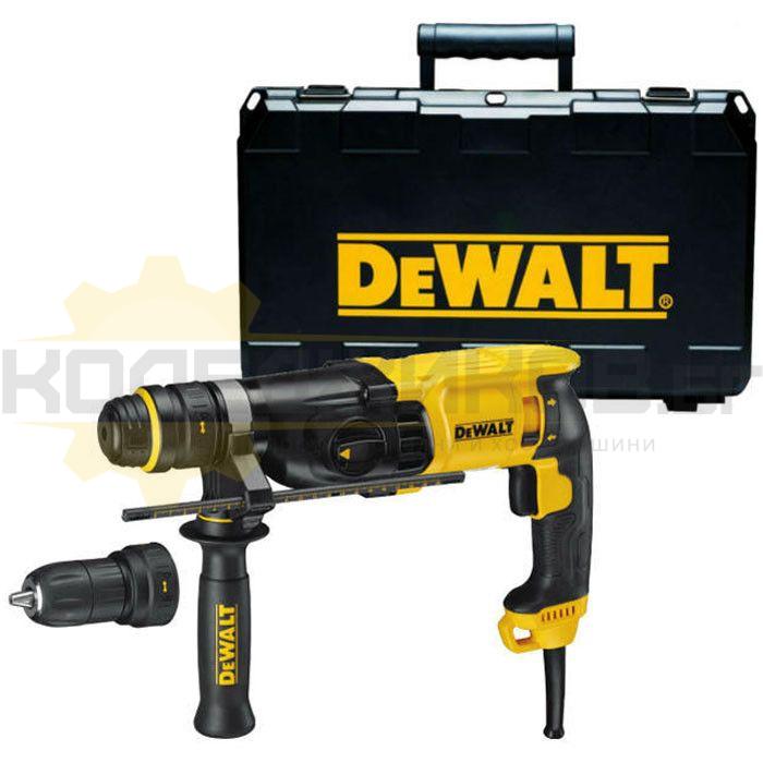 Електрически перфоратор SDS-plus DeWALT D25144K - 1