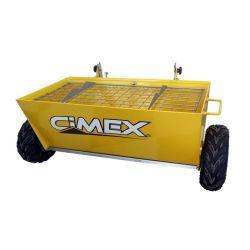 Количка за посипка на бетон CIMEX CWB100 - 2