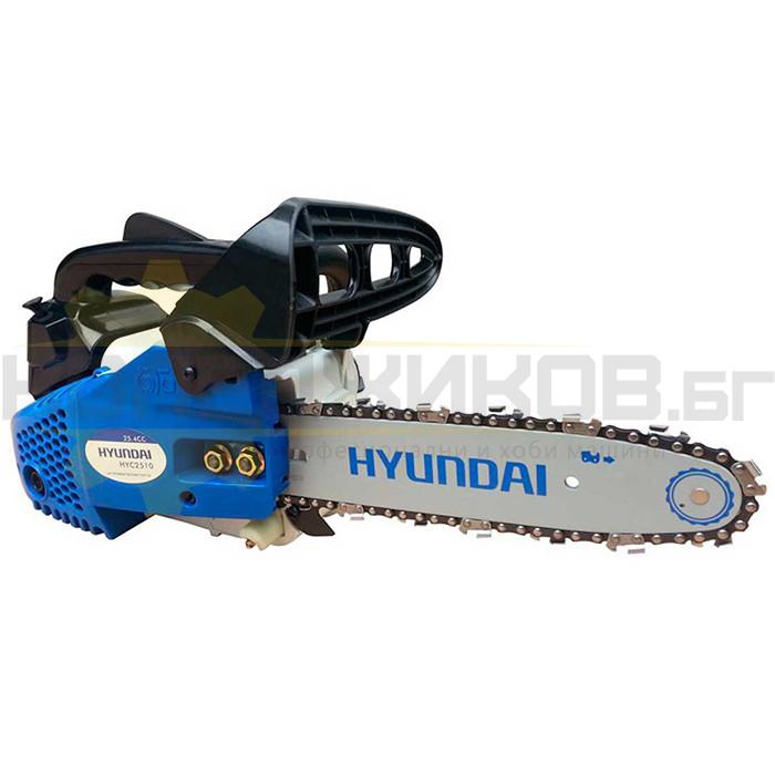 Бензинова резачка за дърва HYUNDAI HYC 2510 - 1