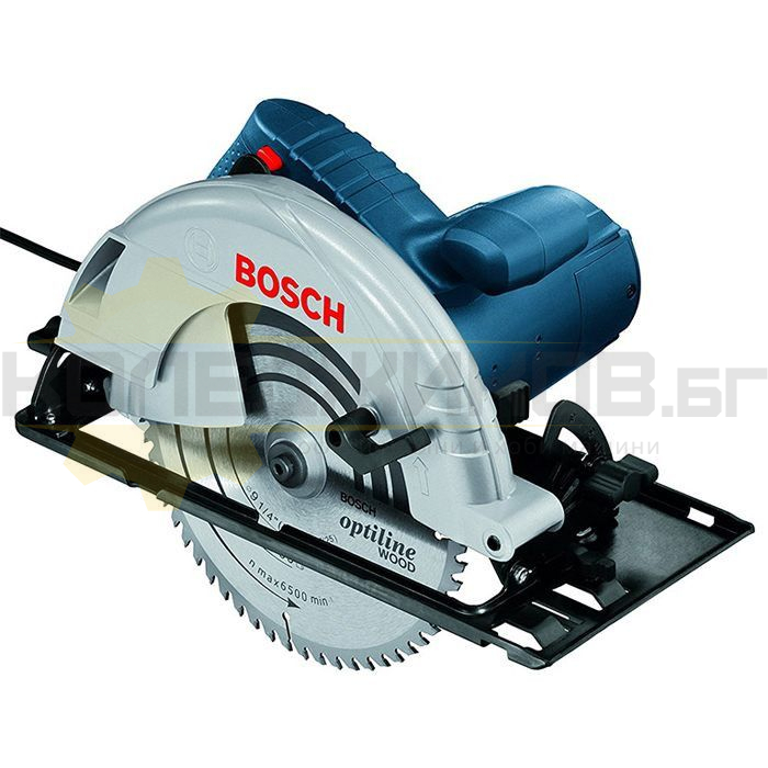 Ръчен циркуляр BOSCH GKS 235 Turbo Professional - 1