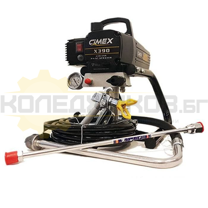 Машина за боядисване CIMEX AIRLESS X390 - 1