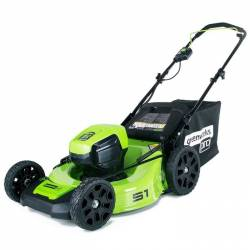 Акумулаторна косачка GreenWorks GD60LM51HP - 2