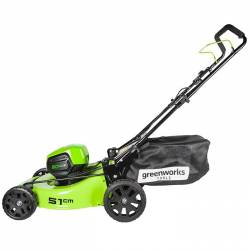 Акумулаторна косачка GreenWorks GD60LM51HP - 4