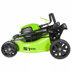 Акумулаторна косачка GreenWorks GD60LM51HP - 5