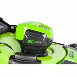 Акумулаторна косачка GreenWorks GD60LM51HP - 7