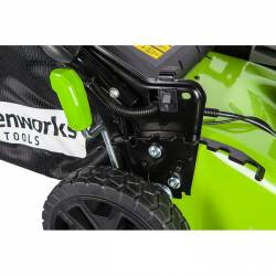 Акумулаторна косачка GreenWorks GD60LM51HP - 10
