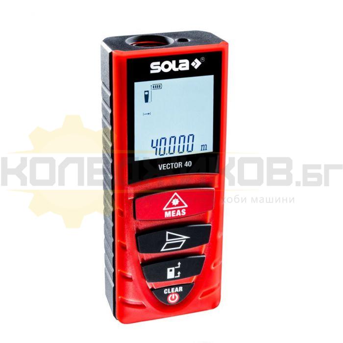 Лазерна ролетка SOLA Vector 40 - 1