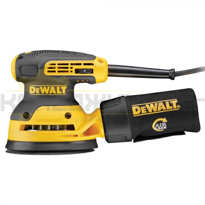 Електрически ексцентършлайф DeWALT DWE6423 - 1