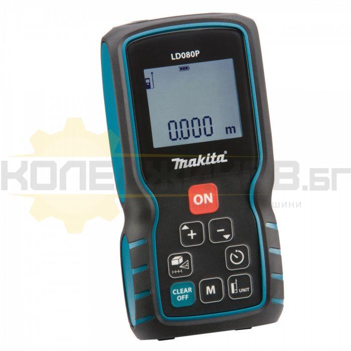 Лазерна ролетка MAKITA LD080P - 1