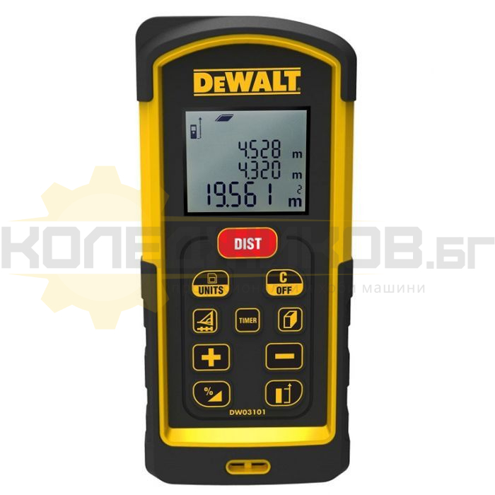 Лазерна ролетка DeWALT DW03101 - 1