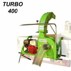 Професионален прикачен листосъбирач PERUZZO TURBO 400 Honda 13 к.с., 5м, 110 куб.м/мин - 2