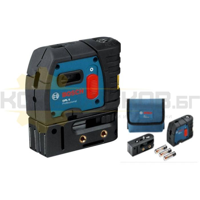 Лазерен нивелир BOSCH GPL 5 Professional - 1