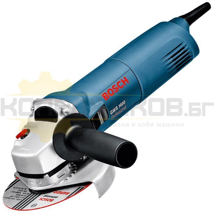 Електрически ъглошлайф BOSCH GWS 1400 - 1