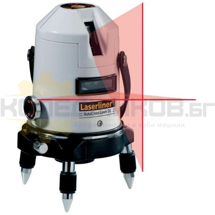 Лазерен нивелир LASERLINER AutoCross-Laser 3C - 1