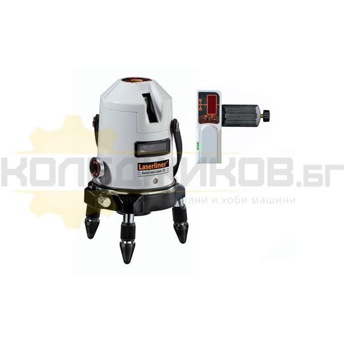Лазерен нивелир LASERLINER AutoCross-Laser 2C RX - 1